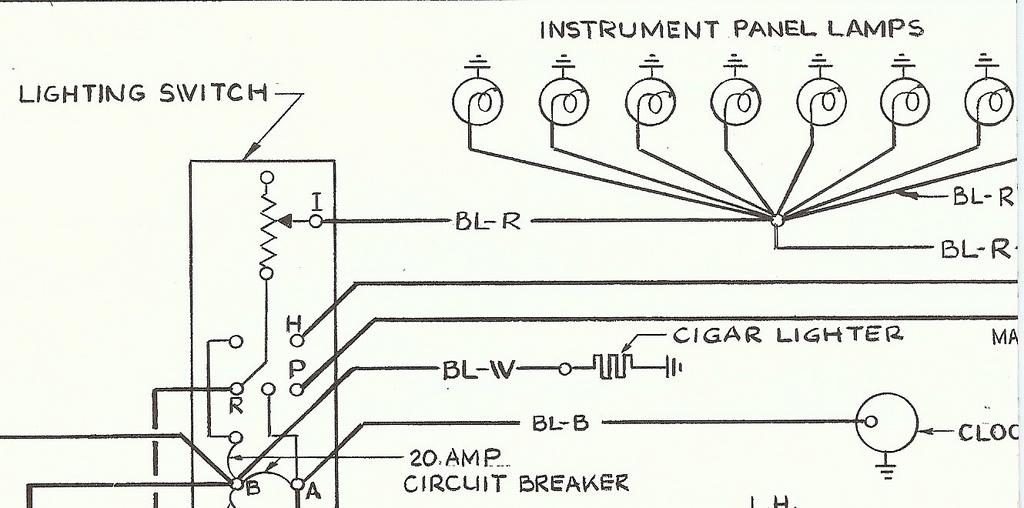1956 ford dash wiring diagram 1956 electrical wiring schematic suppliment 110 41 6     classic  1956 electrical wiring schematic